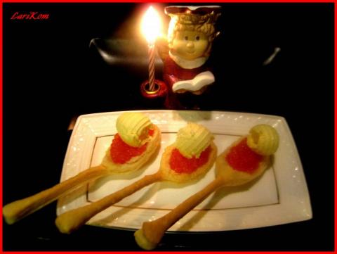 Съедобные ложки для закусок и десертов! 16 кулинарных хитростей от домохозяек