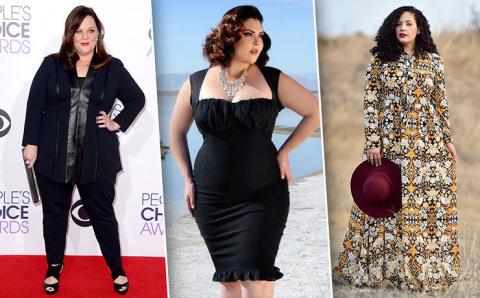 Полный fashion: как выглядеть красиво, если ты не худышка