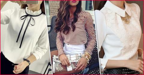 """В стиле """"нежность"""": 12 обворожительных блузок"""