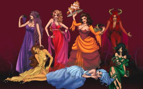 Смертные женские грехи, кото…