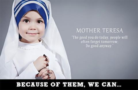 Мать Тереза в детстве