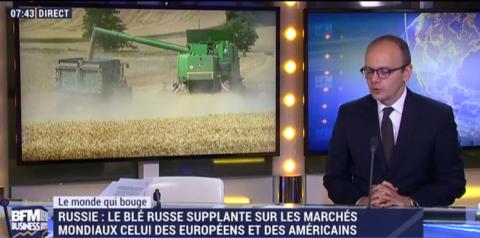 BFM TV: «зерновой» прорыв Ро…