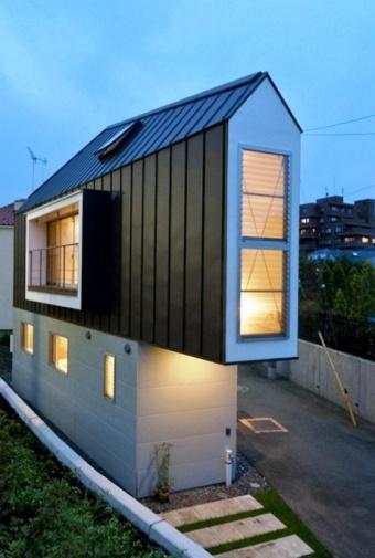Крохотный дом площадью 29 кв…