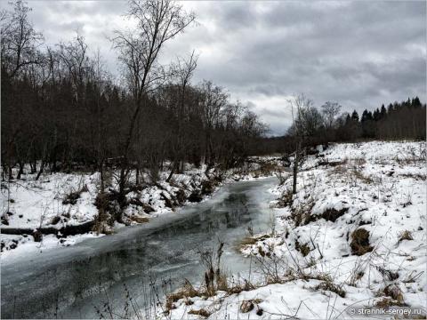 Прогулка к реке в предзимье