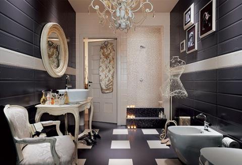Новое облачение ванной комнаты