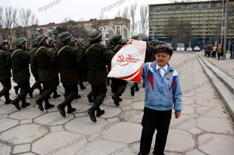 Это смелый человек, на Украи…
