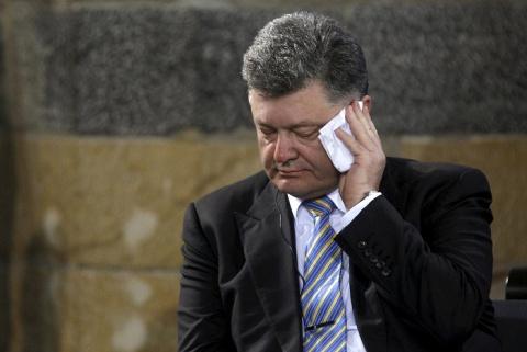 Порошенко «плачется» НАТО