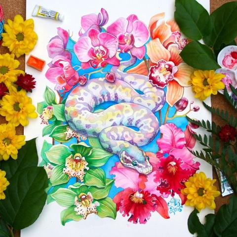 12 животных китайского лунного календаря в работах Анны Буккьярелли