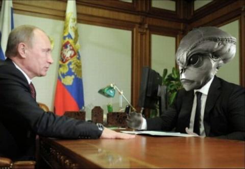 Запад уверен, что инопланетяне помогают России…