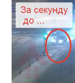 Пьяный следователь снес светофор