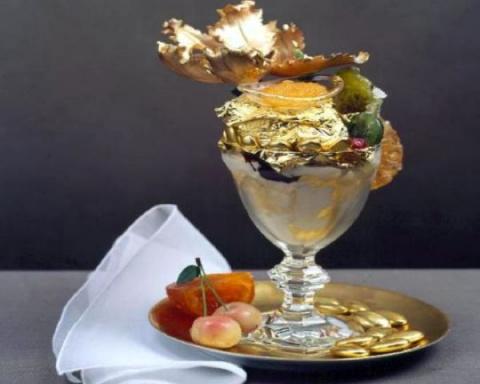 Золото в кулинарии