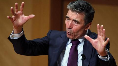 Расмуссен: Путин расколет НАТО, если Великобританию возглавят лейбористы