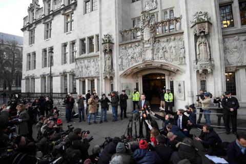 Британский ВС не разрешил запускать Brexit без одобрения парламента