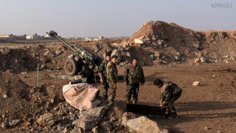Сирия: правительственные вой…