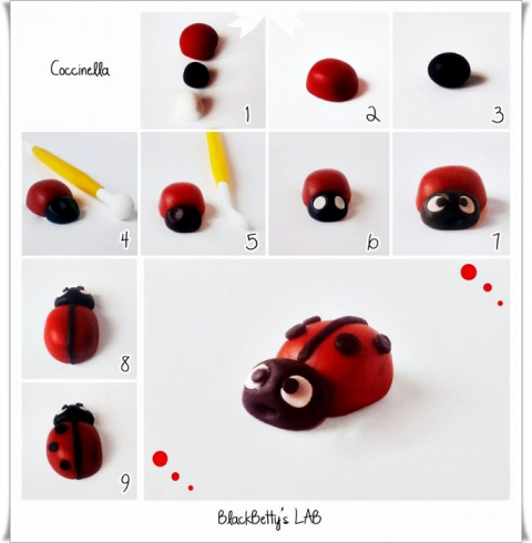 Лепим насекомых - 3 простых мастер класса
