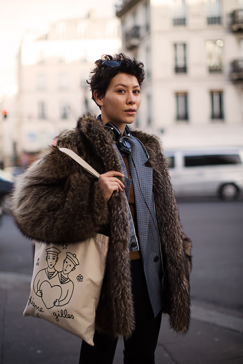 On the Street…Layering, Paris