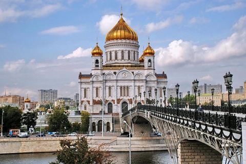 Иностранцы в Москве. Василий Волга