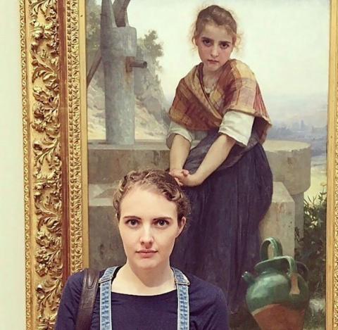 Двойник из музея: пользовате…