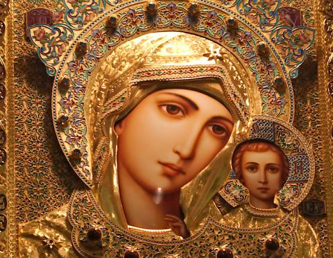 К каким иконам Богородицы с чем обращаться. Тайны и загадки черного цвета