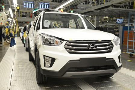 Hyundai начнет сборку серийных Creta в начале августа