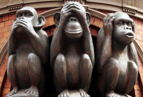 История трёх японских обезьян, ставших символом женской мудрости
