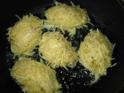 Картофельные котлетки