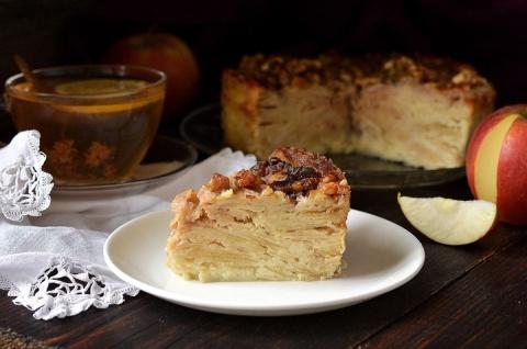 «Невидимый» яблочный пирог! …