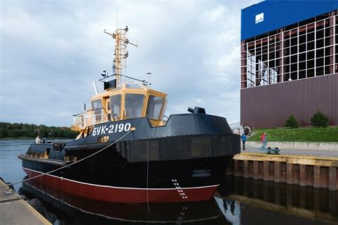 «Пелла» спустила на воду 4-й буксир проекта 04690