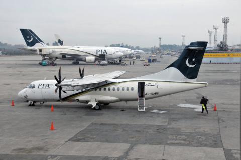 Опубликован список пассажиров, летевших пакистанским самолетом