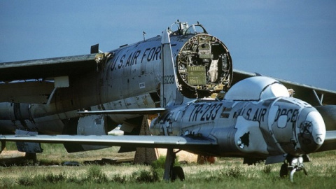 Крупнейшие кладбища самолетов