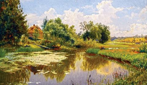 Русский пейзажист Александр …
