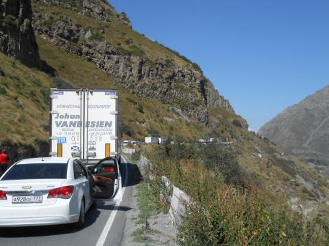 Из Северной Осетии в Грузию на автомобиле