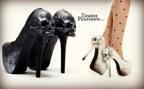 Эпатажная коллекция обуви Zombie Peepshow