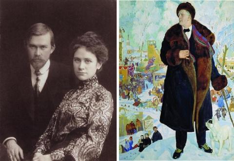 Муки и радости Бориса Кустодиева – художника, который писал жизнеутверждающие полотна прикованным к кровати