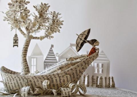 Волшебное бумажное искусство Malena Valcarcel