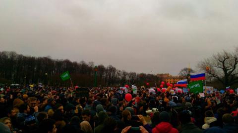 Антикоррупционный митинг Навального