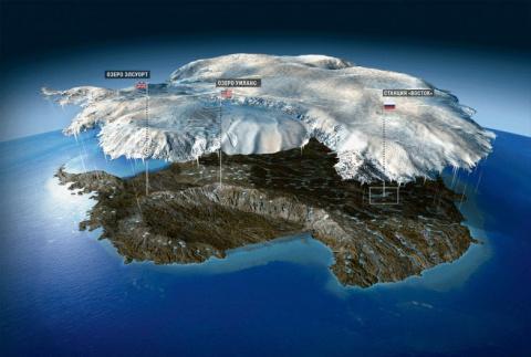 Новая форма жизни в Антарктиде, глубоко подо льдом