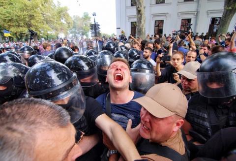 Беспорядки в Одессе: драки у…