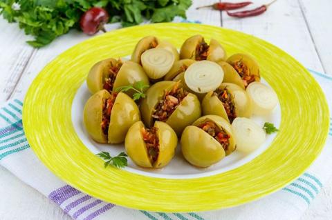 Удивим гостей. Рецепты необычных овощных закусок