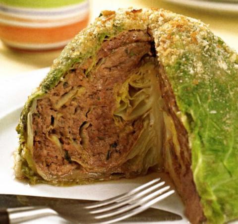 Курочка в ажуре - вкуснейший ужин! Фаршированная капуста - прекрасная альтернатива голубцам!