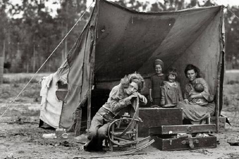 Перепроизводство и Голодомор в США 1932 г. на 7 млн человек