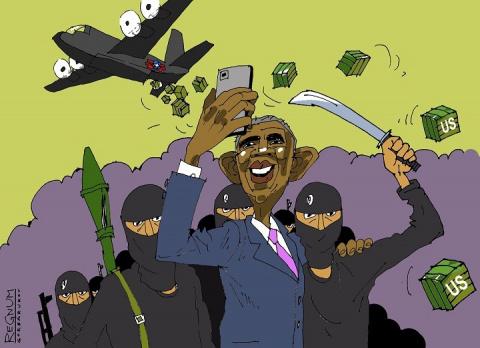 Дембельский аккорд «хромой утки»: зачем Обама снял ограничение на поставку вооружения союзникам в Сирии