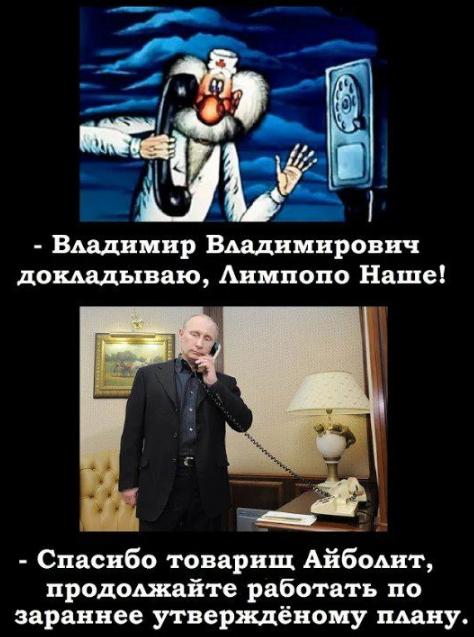 "Перепост:   ""ЛИМПОПО ВО ВЛАСТИ ДИКТАТОРА АЙБОЛИТА"""