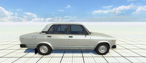 Объявление о продаже Лада-2105 на одном из европейских сайтов