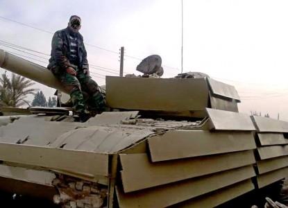 Сирийская армия испытала в б…