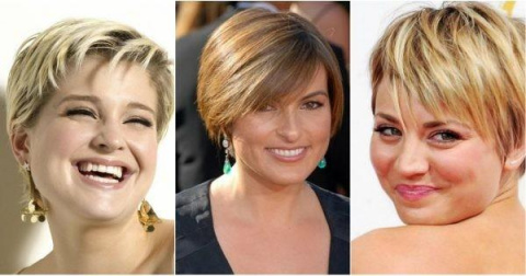 Лучшие стрижки для полного лица — смелые, стильные, элегантные!