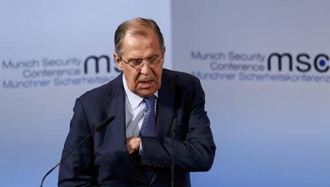 Лавров: Россия не снимет санкции против ЕС до выполнения Минских соглашений