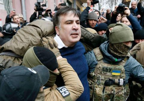 Саакашвили пригрозил Порошен…