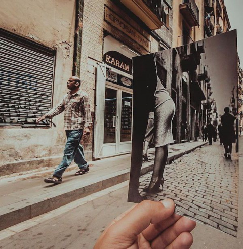 «Окно в прошлое» на снимках …