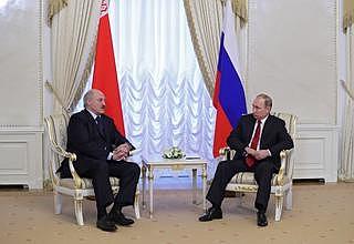 Встреча с Президентом Белоруссии Александром Лукашенко - НОВОСТИ НЕДЕЛИ